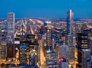 Downtown Chicago, Illinois, USA