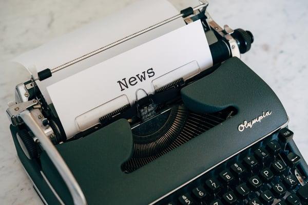 news-typewritten-on-white-paper